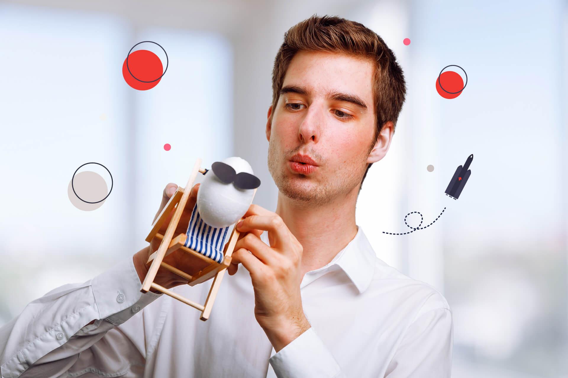 Spaßbild Filipe Mandelli von eggheads   eggheads.net