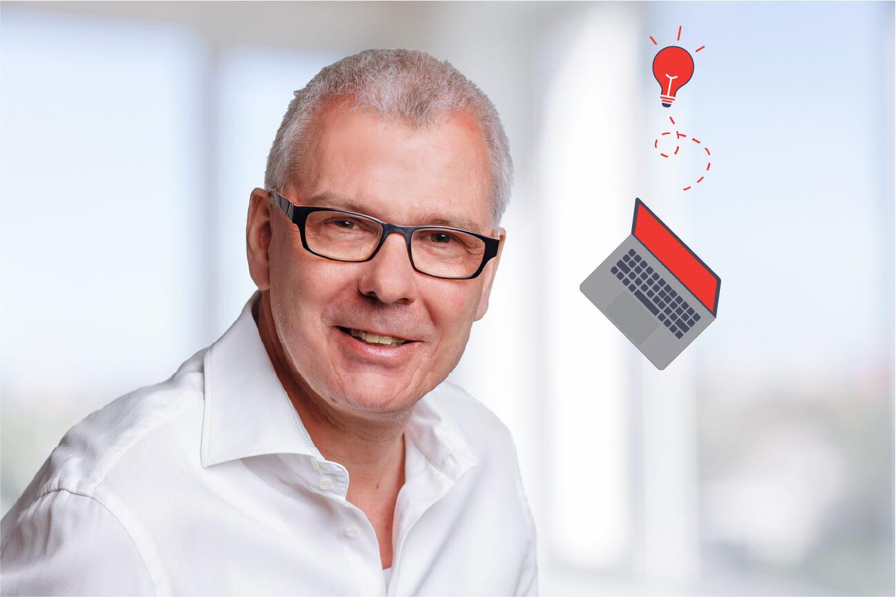 Speakerbild Wolfgang Wichert von eggheads   eggheads.net