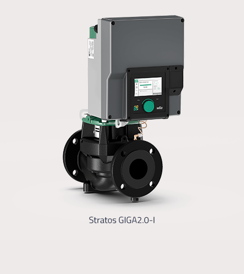 Product image of a Stratos GIGA2.0-I pump from wilo. | eggheads.net