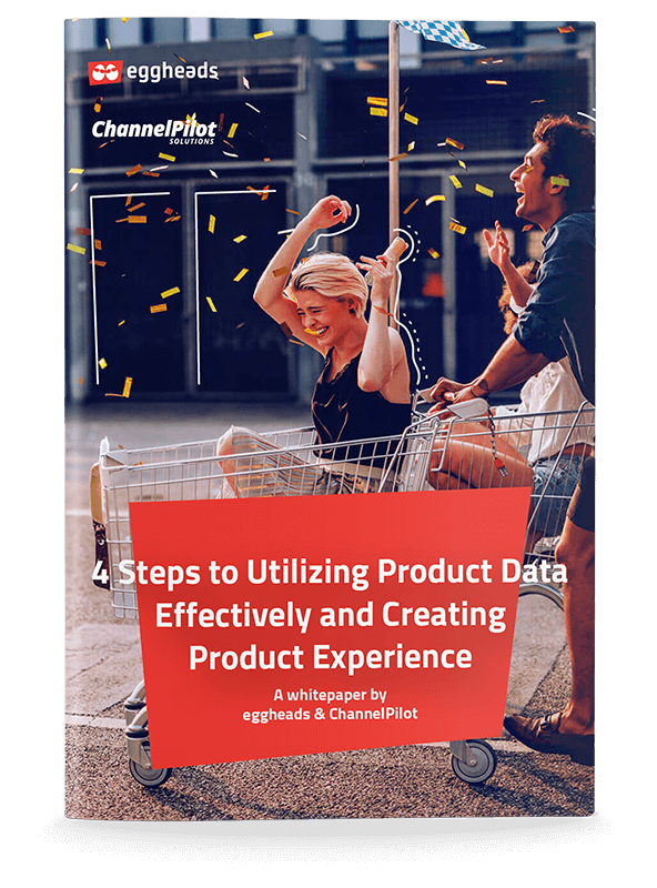 Cover page of the whitepaper for creating Product Experiences. | eggheads.net