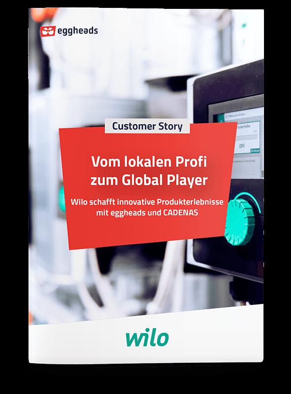 Titelseite der Customer Story von wilo: