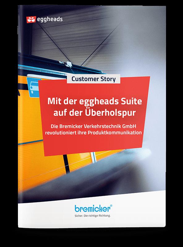 Titelseite der Customer Story von Bremicker | eggheads.net
