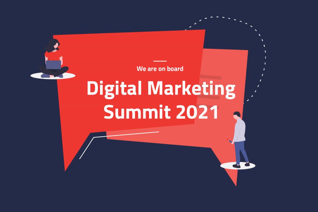Event Illustration Digital Marketing Summit 2021 | eggheads.net