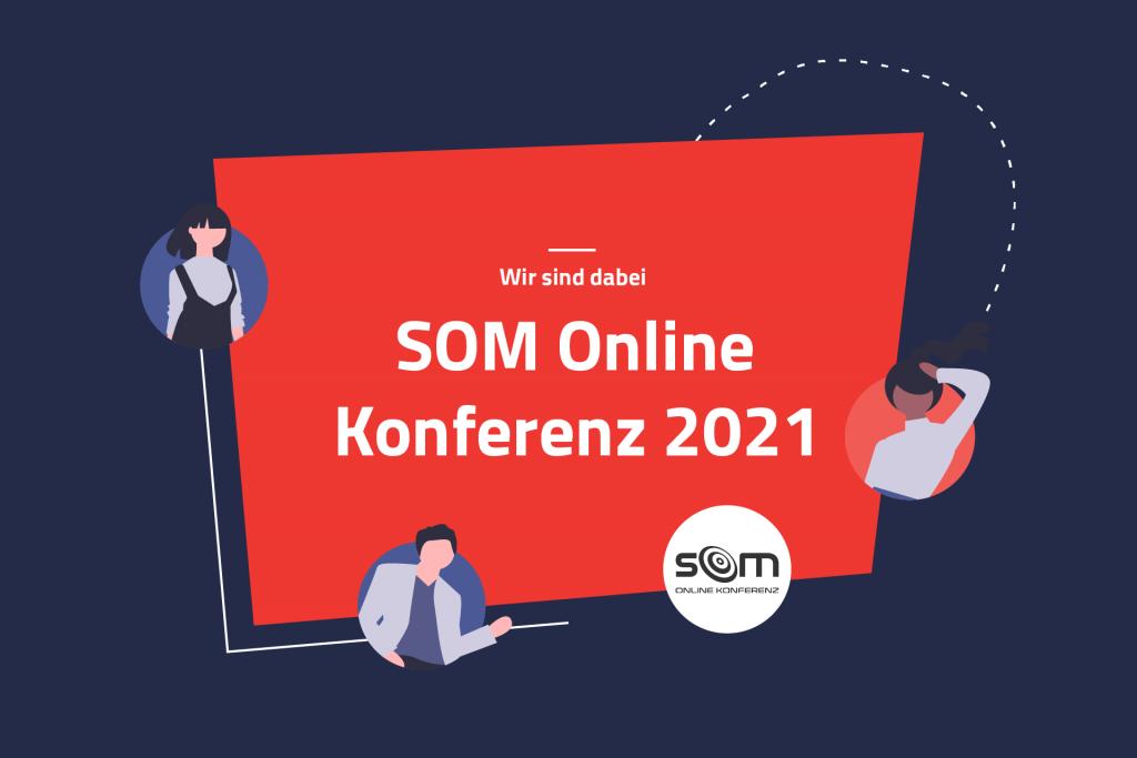 Eventillustration SOM Online Konferenz 2021 | eggheads.net